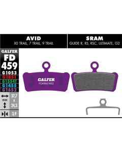 Bremseklods Galfer G1652 AVID TRAIL/SRAM GUIDE - FD459G1652 - allbike.dk