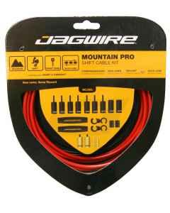 Gearkabel sæt JAGWIRE MTB PRO shift kit MCK215 - rød