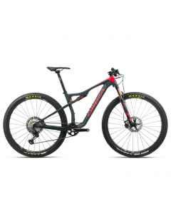Orbea OIZ M10 - Carbon - 1x12 speed - 2020 - Blå / Rød - K252xxxx - allbike.dk