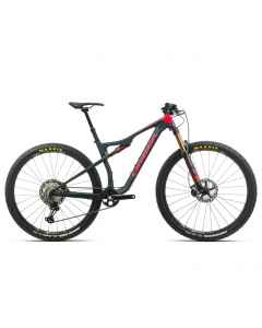 Orbea OIZ M10 TR - Carbon - 1x12 speed - 2020 - Blå / Rød - K253xxxx - allbike.dk