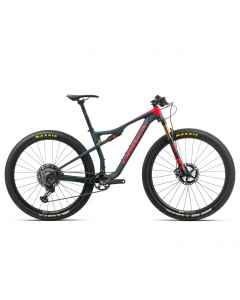 Orbea OIZ M-Team - Carbon - 1x12 speed - 2020 - Blå / Rød - K254xxxx - allbike.dk