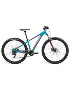 Orbea MX 27 XS Dirt - Blå - 2021 - 2x7 speed - L01127NP - allbike.dk
