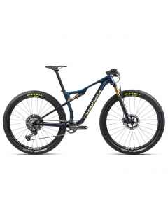 Orbea OIZ M-Team - Carbon OMX - 1x12 speed - 2021 - Carbon Blå/Guld - L247xxxx - allbike.dk