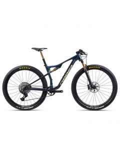 Orbea OIZ M-LTD - Carbon OMX - 1x12 speed AXS - 2021 - Carbon Blå/Guld - L248xxxx - allbike.dk