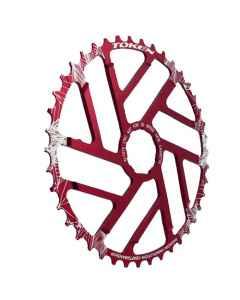 TOKEN klinge 1x10 speed 42T rød