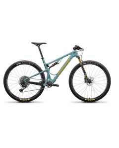 Santa Cruz Blur 3 CC X01-Kit - Grøn - 2021 - 1x12 speed - D641096xxx - allbike.dk