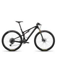 Santa Cruz Blur 3 CC X01 - Sort - 2021 - 1x12 speed - Medium - D641096089 - allbike.dk