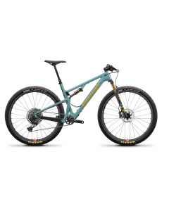 Santa Cruz Blur 3 CC X01 Trail RSV - Grøn - 2021 - 1x12 speed - D641096xxx - allbike.dk