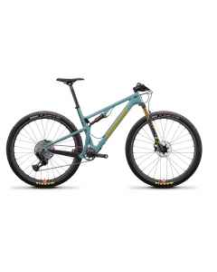 Santa Cruz Blur 3 CC XX1 RSV - Grøn - 2021 - 1x12 speed - D641096xxx - allbike.dk