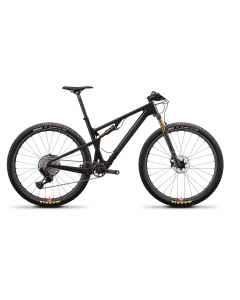 Santa Cruz Blur 3 CC XX1 RSV - Sort - 2021 - 1x12 speed - D641096xxx - allbike.dk