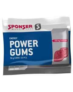 Sponser Power Gums - 1 ps / 10 stk - 75g - 17-700