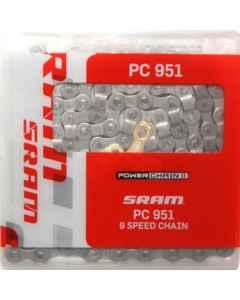 Kæde 9 speed SRAM PC-951 114 led 86.2706.114.105