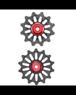 Pulleyhjul Token 1724X Alu - SRAM 1x12 - 12T/14T  - TK1724X - Sort