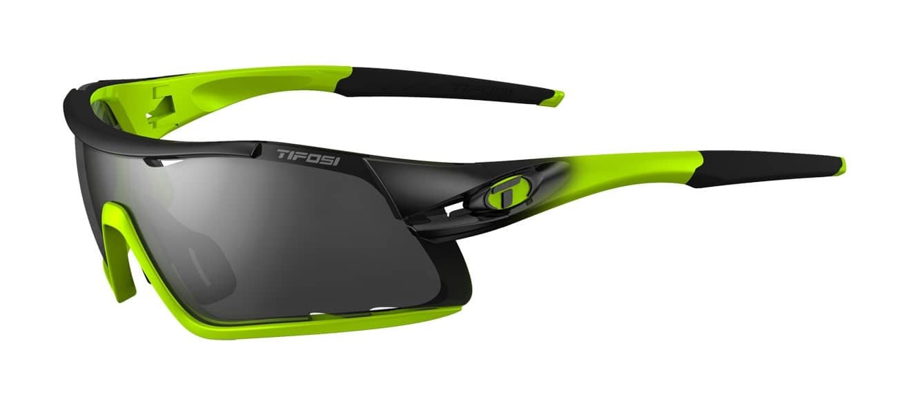 Cykelbrille Tifosi Davos Race Neon grøn - 1460102901 | Glasses