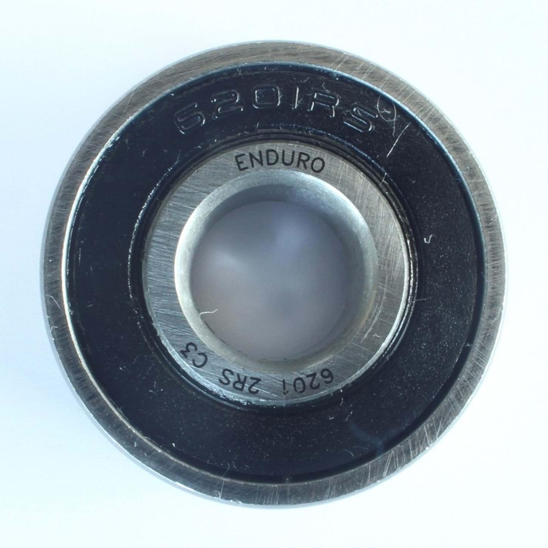 Kugleleje Enduro 6201-2RS ABEC3 LLB (32x12x10) - EB8011 | Bottom brackets bearings
