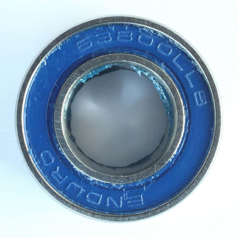 Kugleleje Enduro 63800-2RS ABEC3 LLB (19x10x7 mm) - EB8439 | Bottom brackets bearings