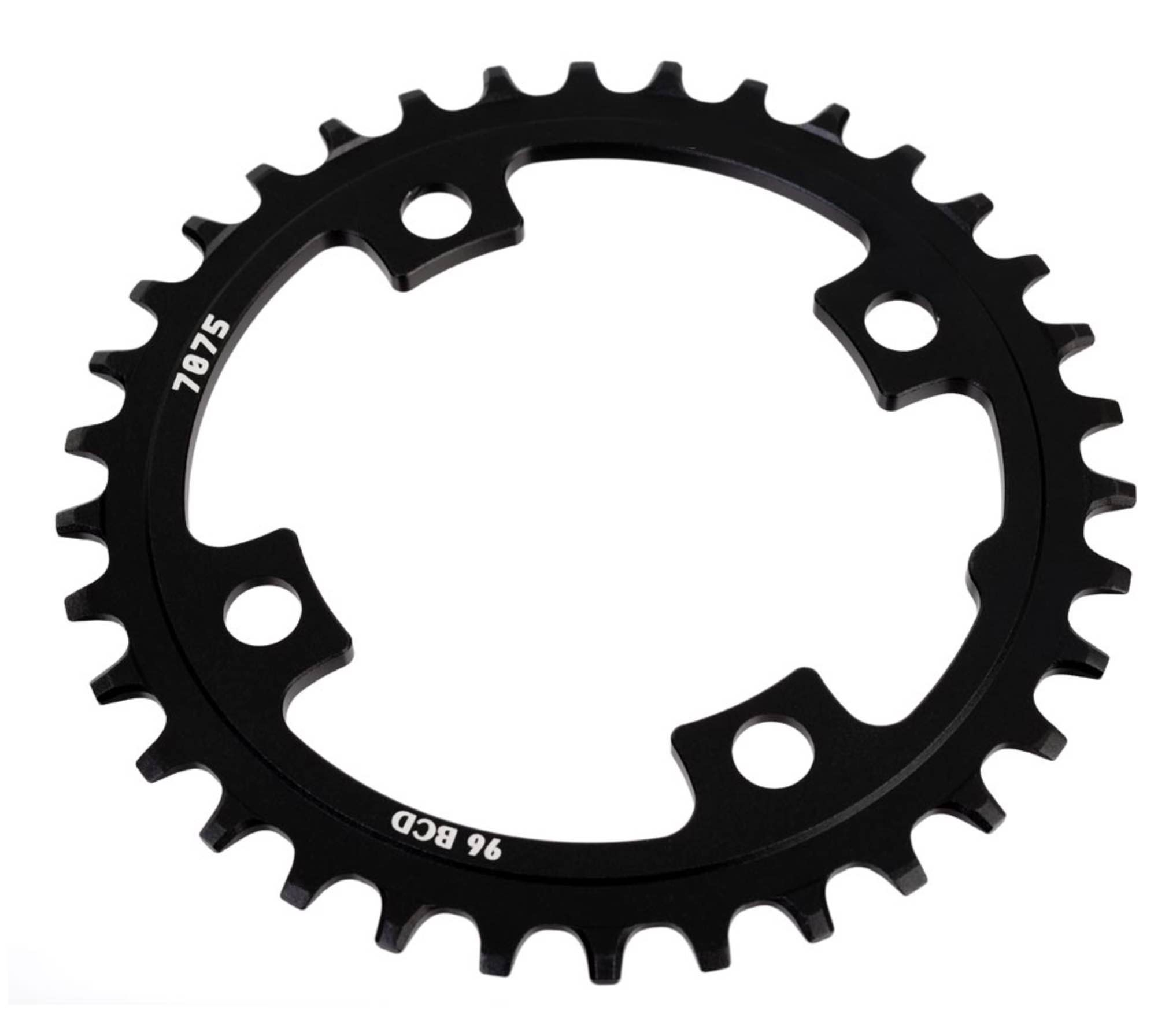 Sunrace klinge BCD 96 Alu Narrow Wide - sort - CRMX00 | chainrings_component