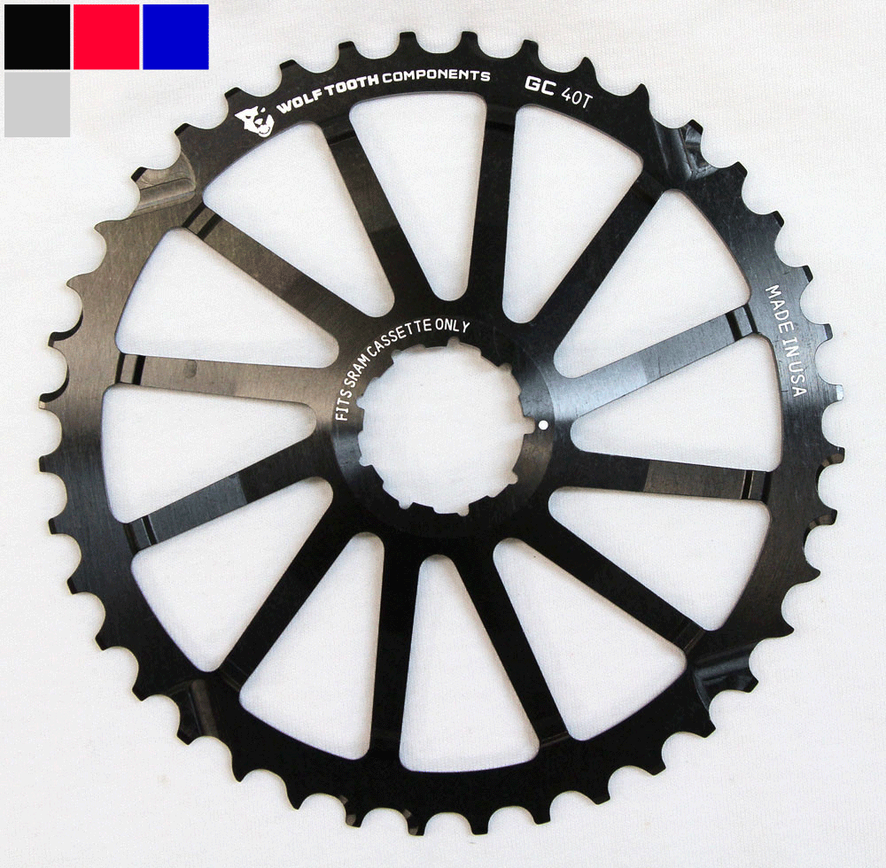 Wolftooth Klinge GC COG SRAM 40T | chainrings_component