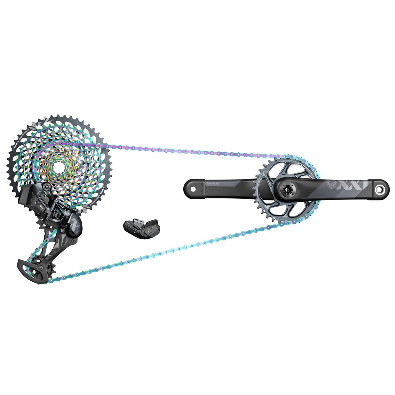 SRAM XX1 Eagle AXS gruppe 1x12 speed - 170 mm - 00.7918.079.000 | Groupsets