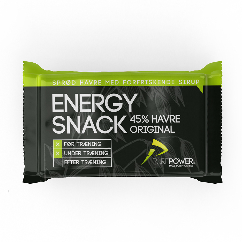 Purepower Energibar - 1x60 gram - Hvede - 6928890 | Energy bar