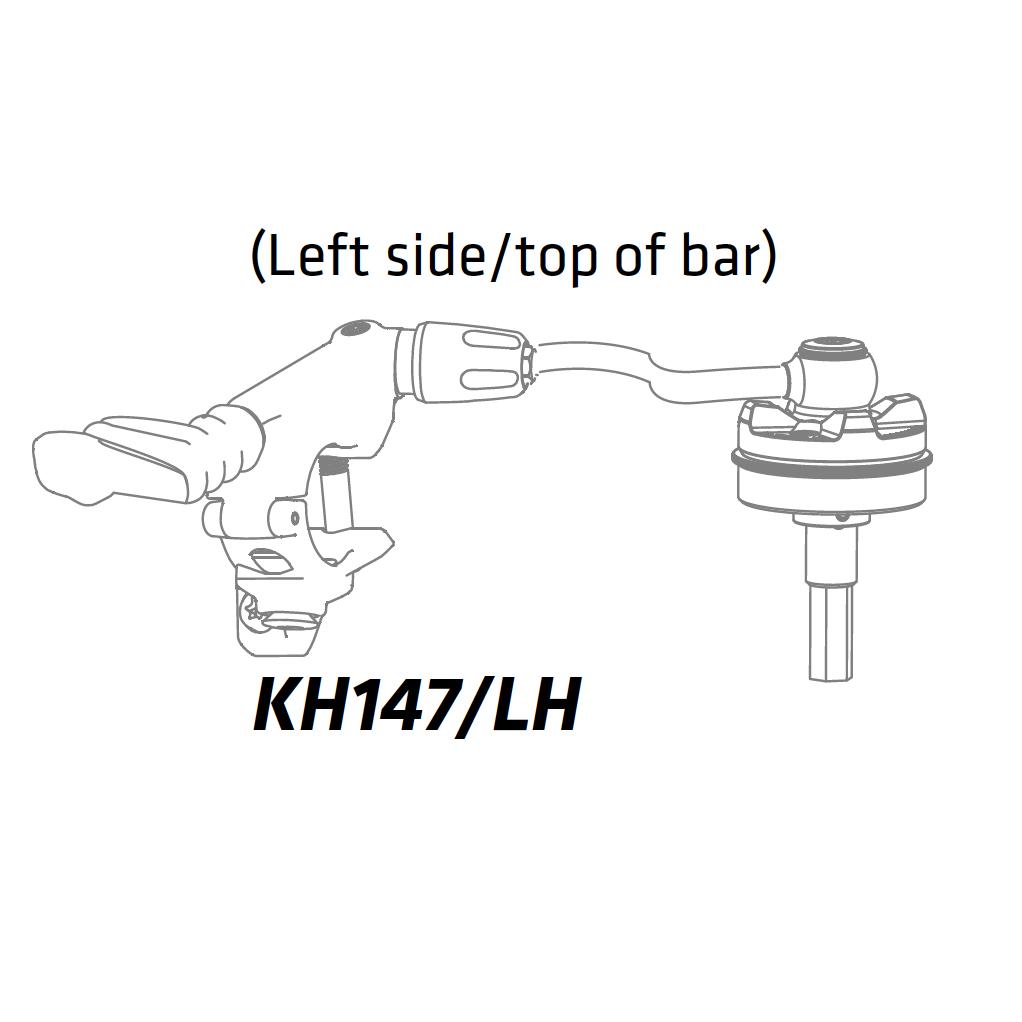 Cannondale XLR Remote venstre/top - højre/bund - KH147/LH | Misc. Forks and Shocks