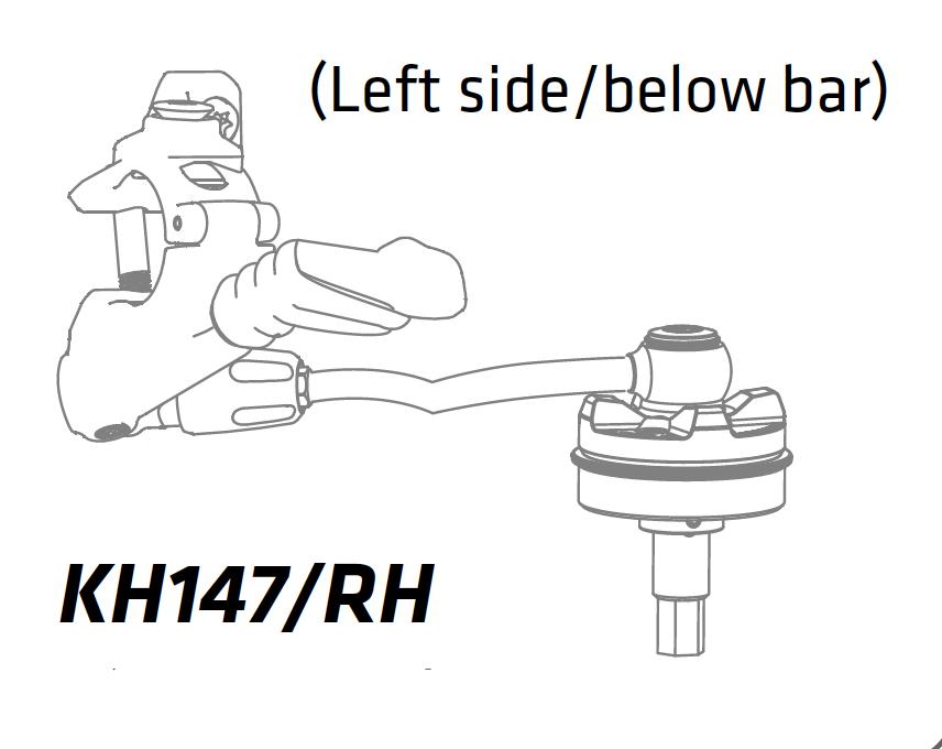 Cannondale XLR Remote højre/top - venstre/bund - KH147/RH | Misc. Forks and Shocks