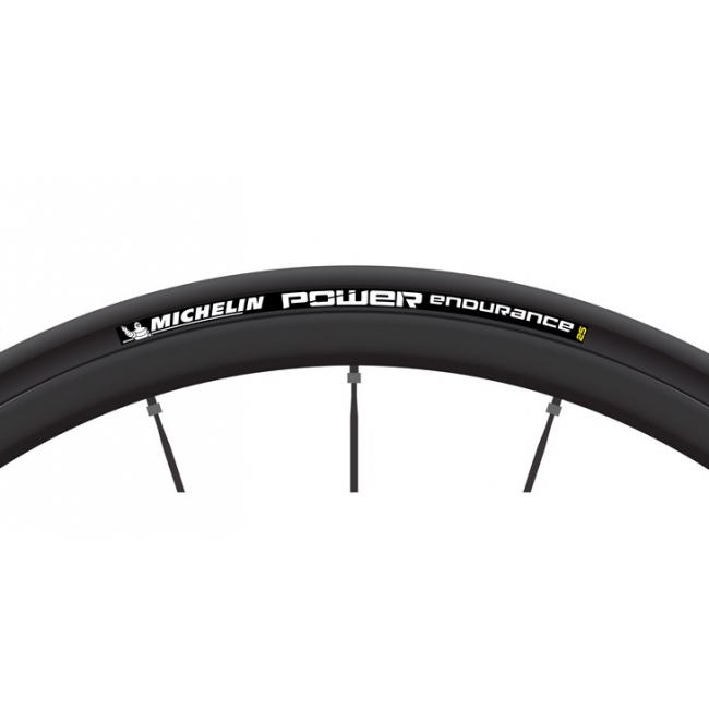 Michelin Power Endurance dæk 700x23 Sort - 602591 | Dæk