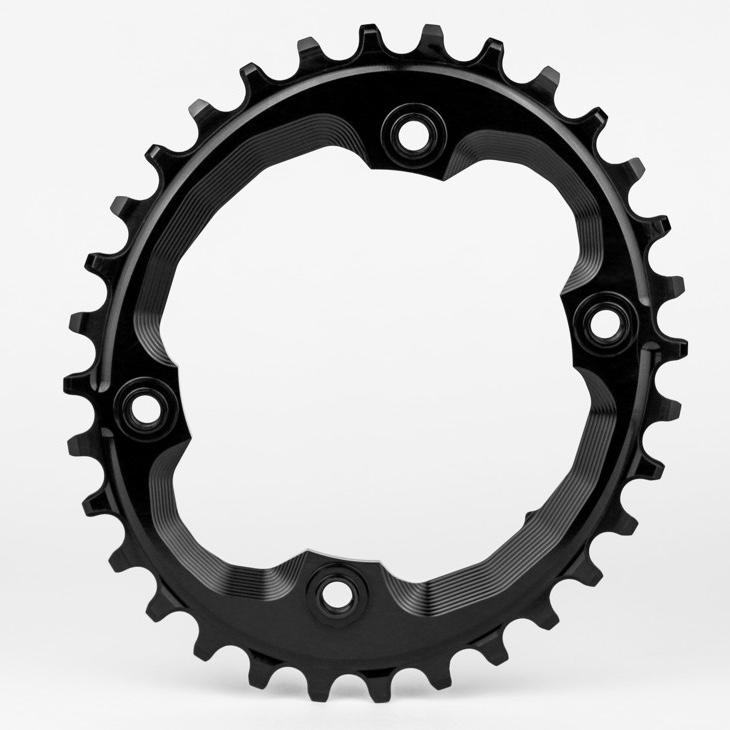 AbsoluteBlack Klinge Narrow/Wide Shimano XTR M9000 OVAL - Sort | chainrings_component