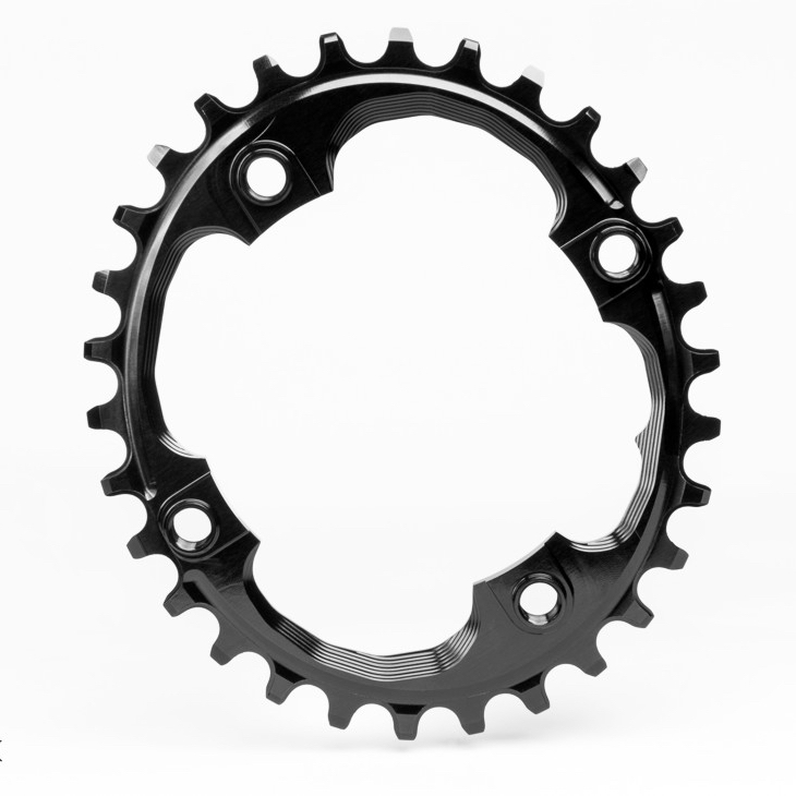 AbsoluteBlack Klinge Narrow/Wide BCD 094 OVAL - sort | chainrings_component