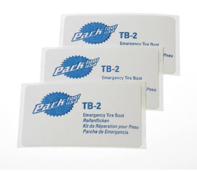 Lappe kit til dæk Park Tool TB-2 3 stk | Tyres