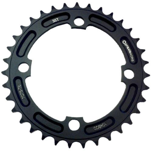 PRAXIS Klinge BCD 104 - sort | chainrings_component