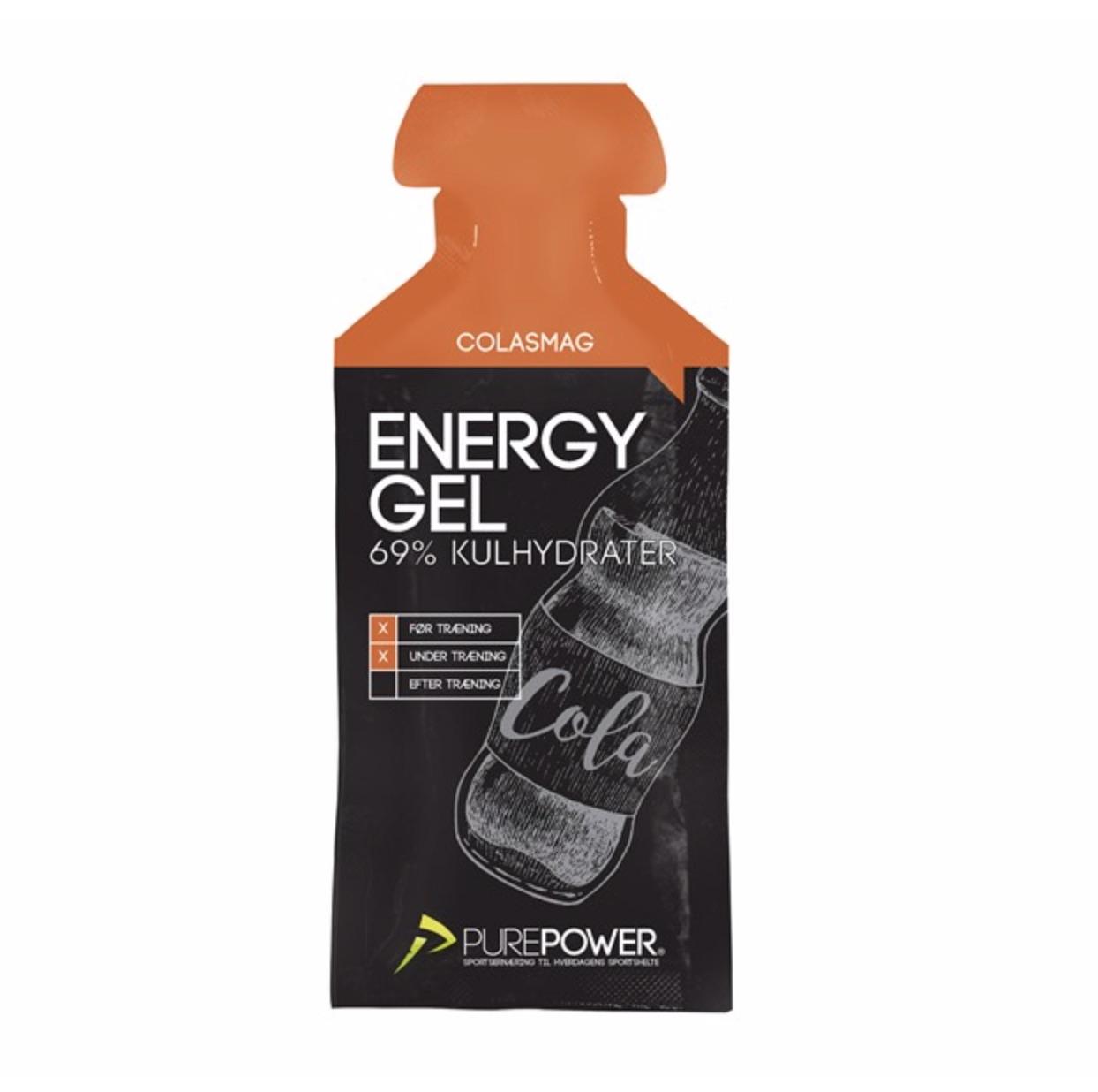 PurePower Energy Gel - 1x40 gram - Cola - 6951760   Energigels
