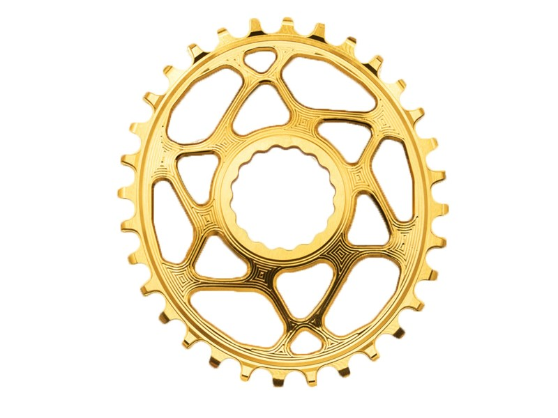 AbsoluteBlack Klinge Narrow/Wide RaceFace Boost 148 OVAL - GULD - RFOVBOOSTxxGL | chainrings_component