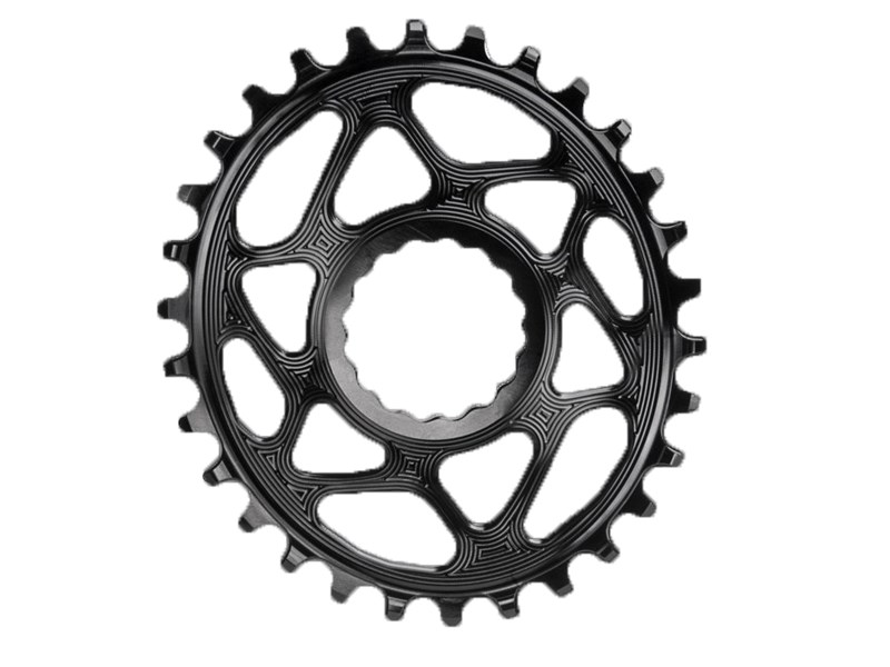 AbsoluteBlack Klinge Narrow/Wide RaceFace Boost 148 OVAL - Sort - RFOVBOOSTxxBK | chainrings_component