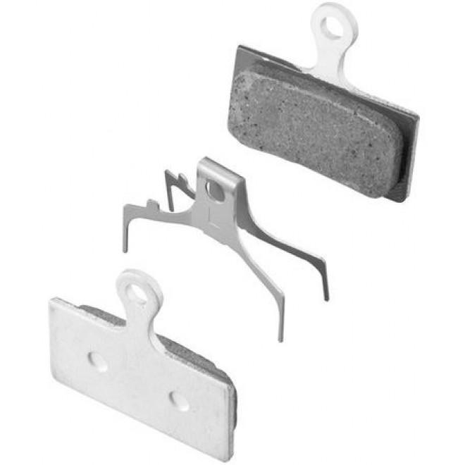 Bremseklods Shimano XTR G02A resin - Y8LW98021 | Brake pads