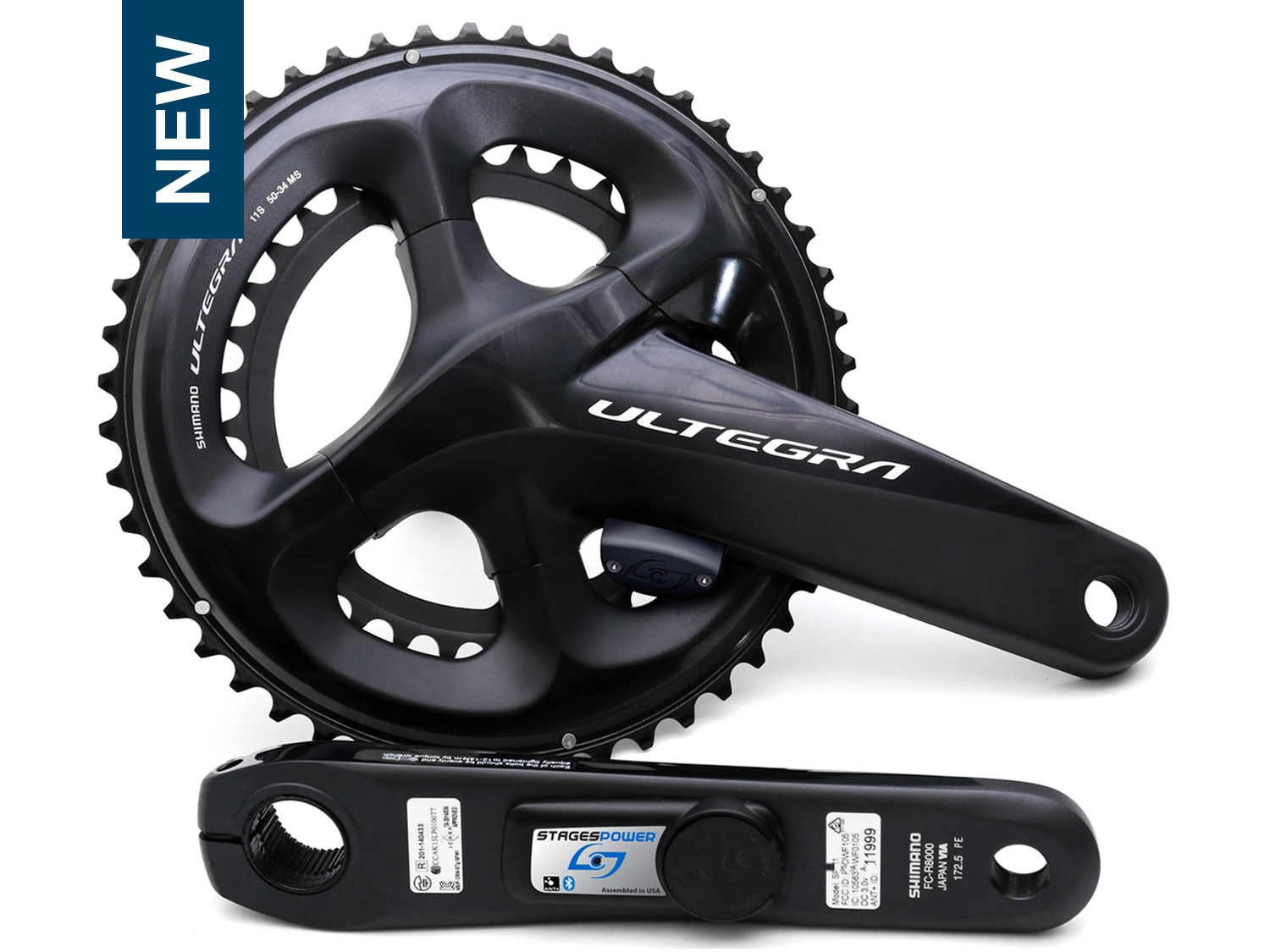 Stages Power Meter Ultegra R8000LR | Wattmålere