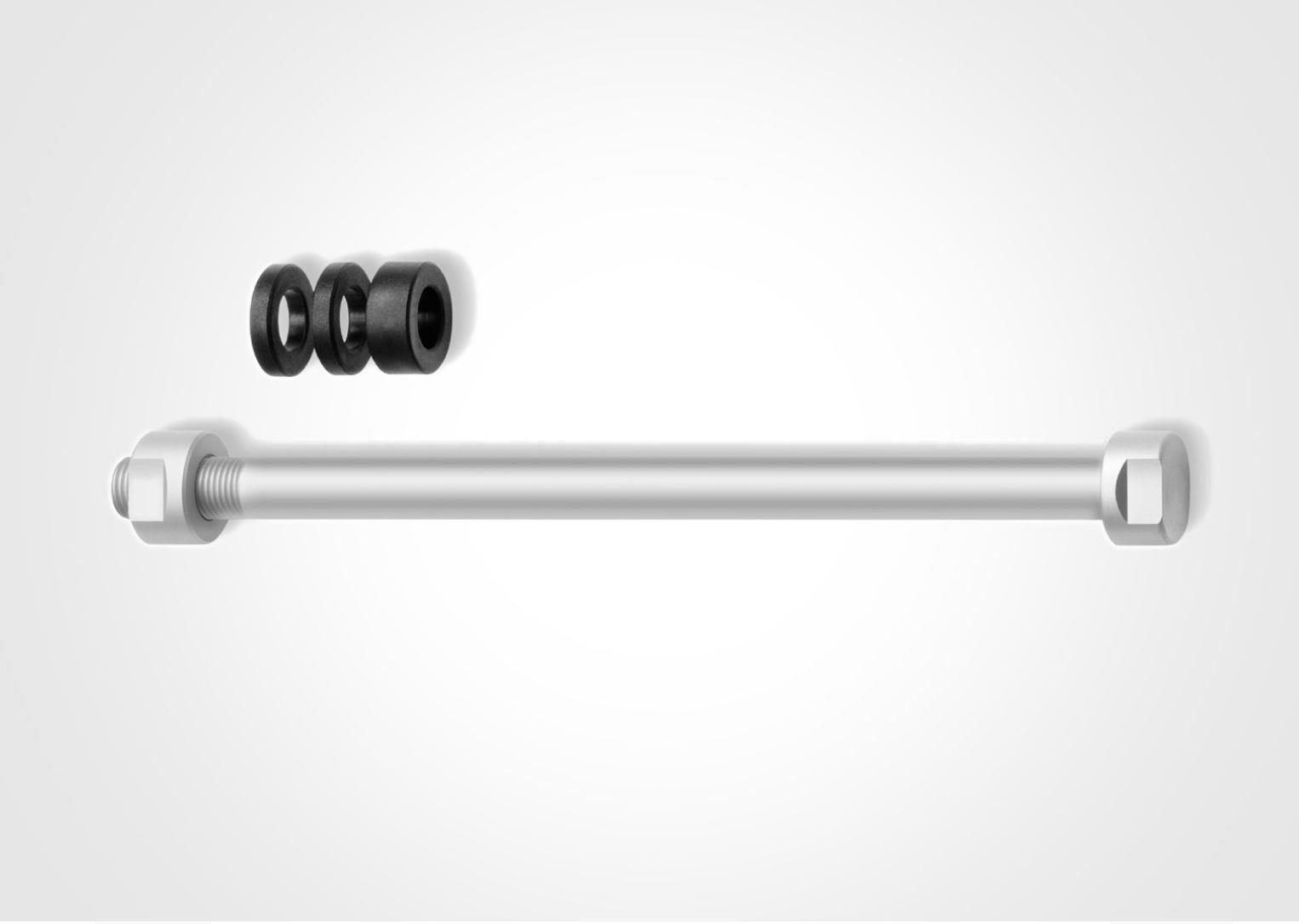 Tacx E-Thru aksel M12x1 til hometrainer - T1707   item_misc