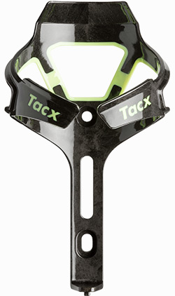 TACX Flaskeholder CIRO Mat Flou Gul/Sort - carbon/polyamid - T6500.31B | Bottle cages