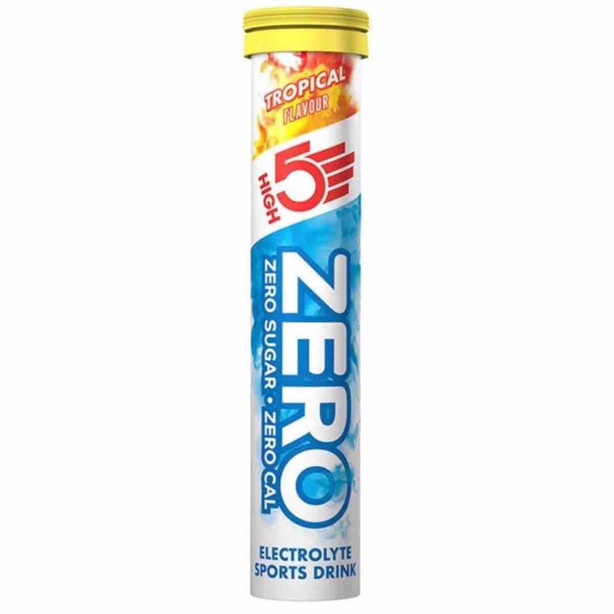 High5 Zero Blackcurrant Brusetabletter | electrolytes tabs