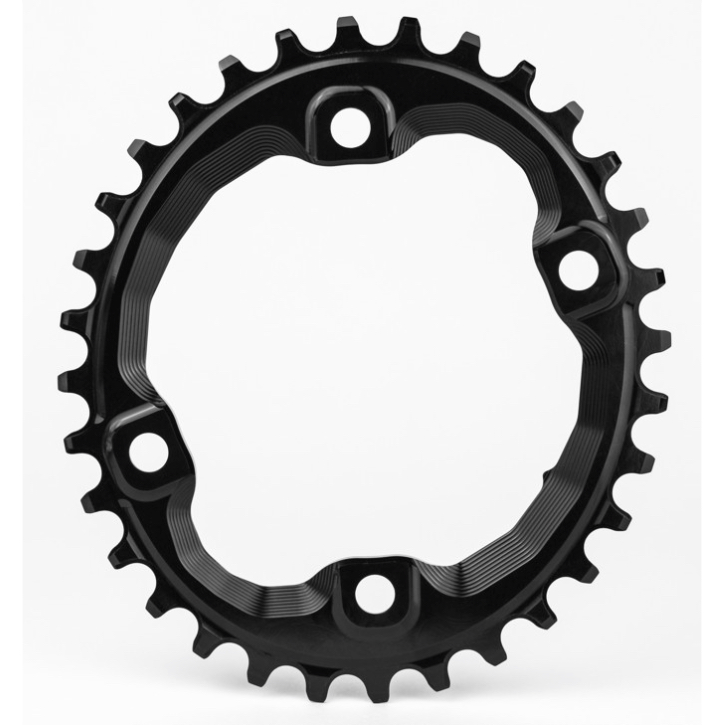 AbsoluteBlack Klinge Narrow/Wide Shimano XT M8000 / SLX M7000 OVAL - Sort | chainrings_component