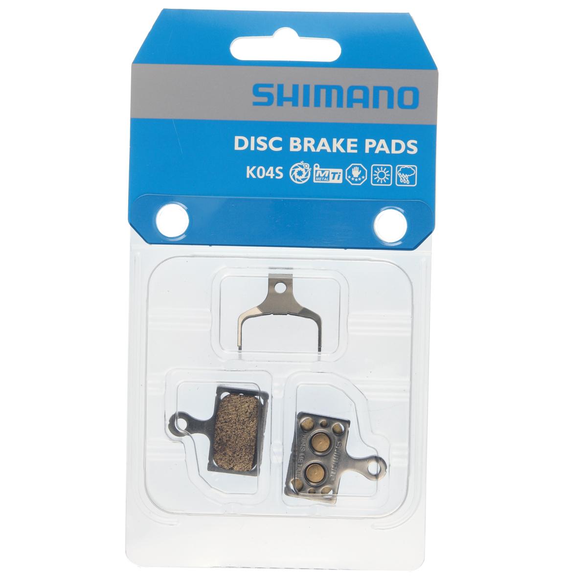 Bremseklods Shimano K04S Metal - Y8N398020 | Brake pads