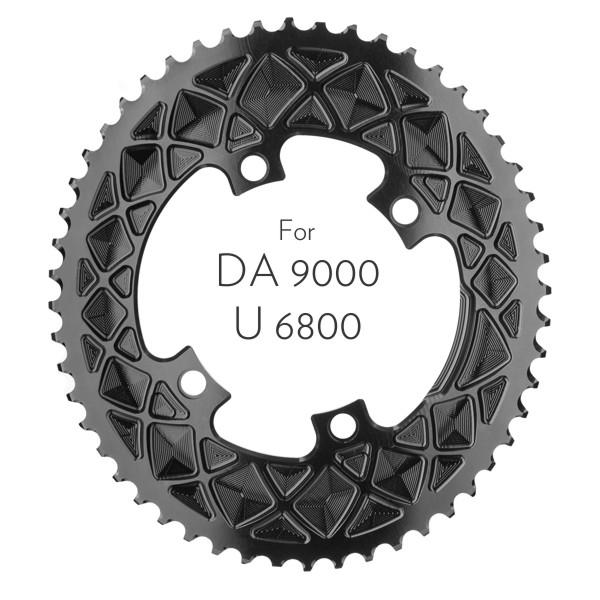 Premium oval 110/4 Shimano DA9000/U6800