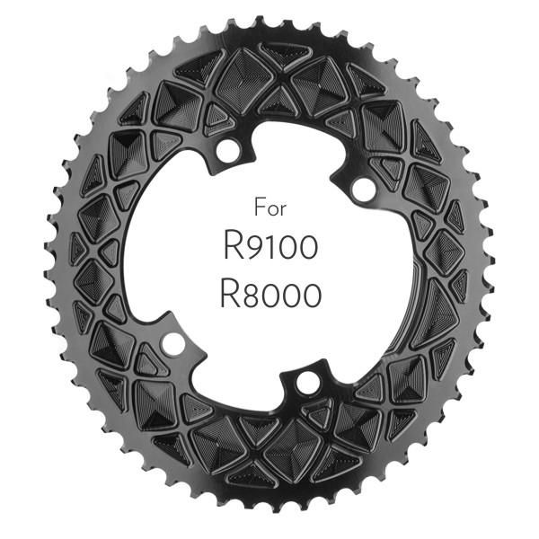 Premium oval 110/4 Shimano R9100/R8000