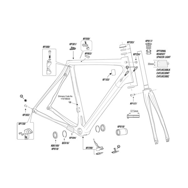 Cannondale Reservedele
